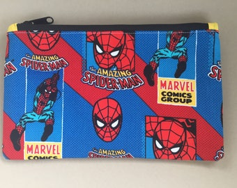 Spiderman Zippered/Pencil Pouch