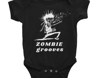 Infant Bodysuit - 'Zombie grooves'