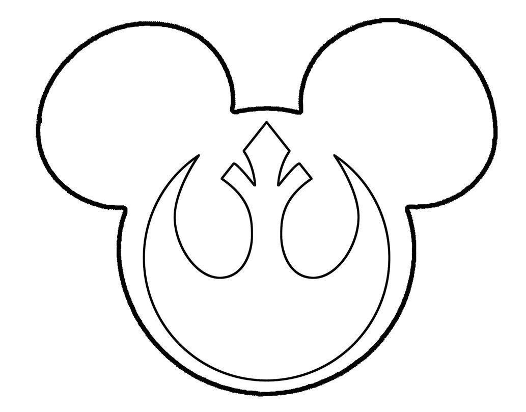 Mickey mouse star wars rebel alliance galactic empire svg zoom buycottarizona