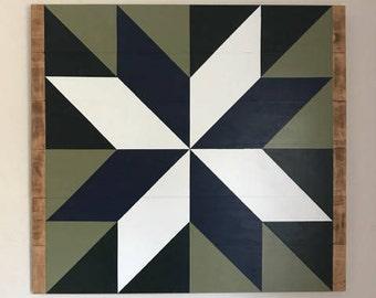 CUSTOM Barn Quilt- Large - Custom Colors/Pattern