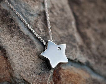 Sterling Silver Star Pendant
