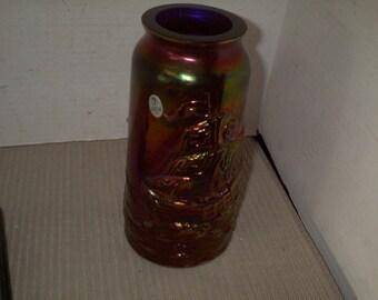 Vintage ans Rare Fenton Glass Vase ,Mint