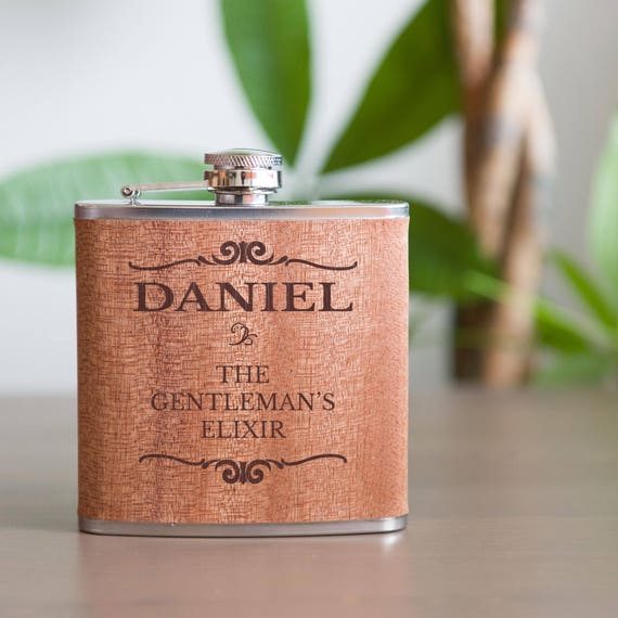 Personalized flask | groomsman flask | best man flask | birthday flask | name on flask | bachelor gift | wedding party gift | #FSK007