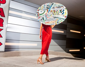 TACO UV-protective sun parasol