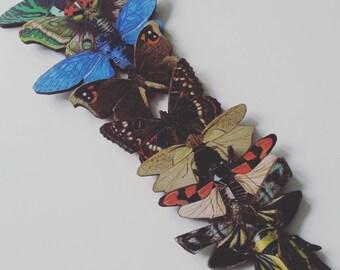 Wooden,  BUTTERFLY, cicada, beetle, moth, Brooch, Choose style, brooch, wood,bugs,  by NewellsJewels on etsy