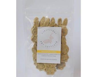 Banana Bunny Cookies Treats - Tasty Homemade treats/snack for Pet Rabbits, Guinea Pigs, Pet food, Bunny treats, Rabbit treats Australia
