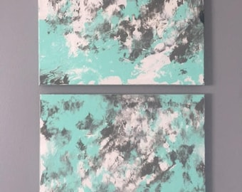 Abstract Canvas Set