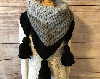 Ombre Crochet Wrap