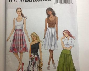 Butterick B5756 skirt Pattern Size 8-16