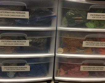 Paternayan 3ply divisable Persian Wool Yarn for Needlepoint, tapestry, petit point, or crewel