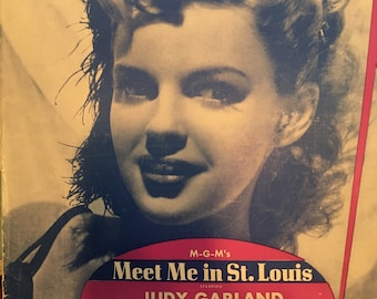 Judy Garland- The Trolley Song Vintage Sheet Music
