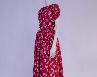 Cherry Dress - 1950