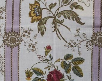 "Raoul Textiles ""Madeleine"" Hand Printed Linen Drapery Panels'"