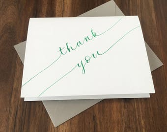Hand-Lettered Greeting Card