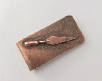 Trowel Money Clip