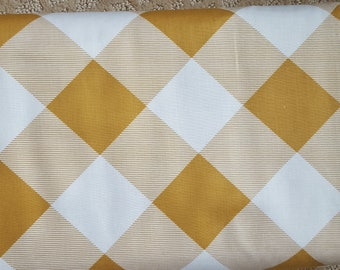 Sale!! Pure Plaid Dijon Yellow Gingham Fabric by Joel Dewberry Modernist Collection Fabric by the Yard