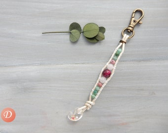 Sakura Cherry Blossom Strap. Bag Strap. Bag Accessory. Lucky Charm Strap. Spring Fashion. Japanese Lucky Charm. Gift for Friend. Made Japan