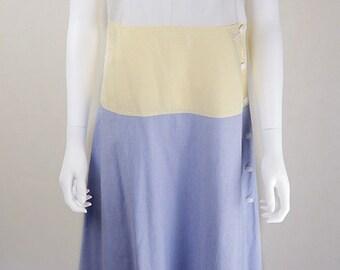 Vintage 1960s Designer Courreges Shift Dress UK Size 8