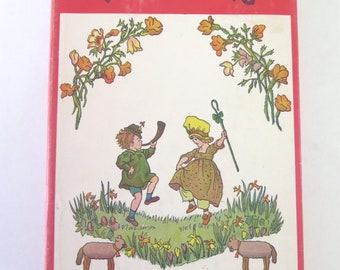 When We Were Very Young, A.A. Milne, Ernest H. Shepard, 1950, Winnie the Pooh, Vintage Illustrated Children's Poetry Book