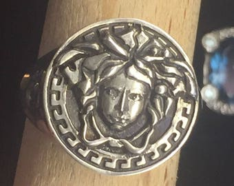 Medusa Ring Sterling Silver 925 Available Size 6 up to 14