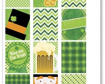 Pinch Proof Full Boxes Planner Stickers for Erin Condren Planner, Filofax, Plum Paper
