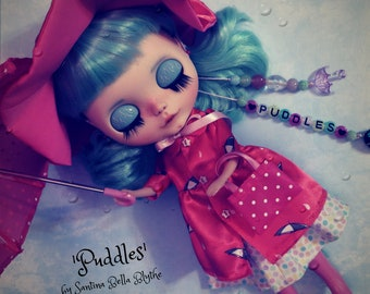 2nd Payment DUE; Custom Blythe OOAK Artdoll 'Puddles'