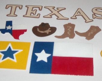 Texas Theme - 12 pieces to the set