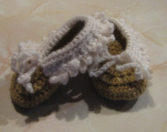 Baby Moccasin Booties