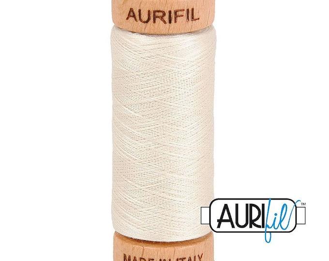 Aurifil 80wt - Silver White 2309