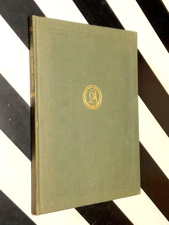 Cato's Moral Distichs by Benjamin Franklin (1935) hardcover book