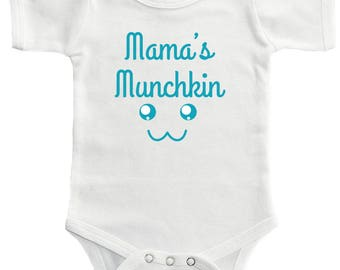 Mama's Munchkin Bodysuit - Cute Clothing For Baby Boys And Baby Girls, Adorable One-Piece Outfit