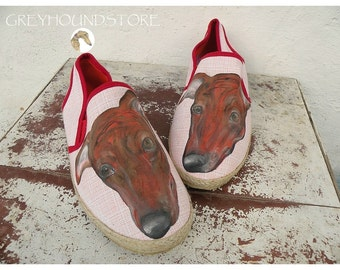 SHOES with GREYHOUND