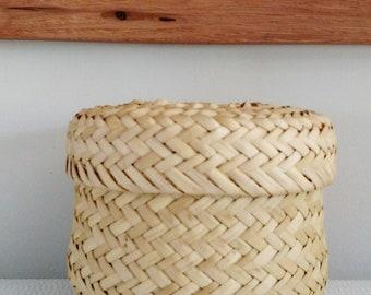 Woven Circle Basket