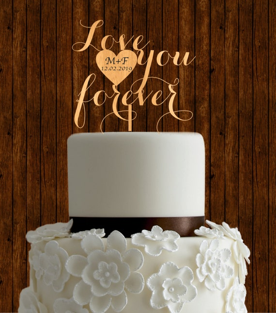 rustic wedding cake toppers etsy rustic cake topper wedding cake topper wood cake topper 19584