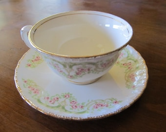 Pope Gosser China (41) Cup and Saucer