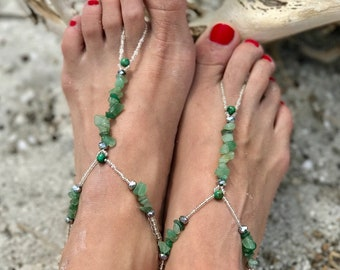 GEMSTONE CHIPS BAREFOOT Sandals