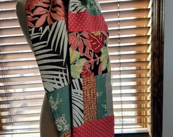 Upcycled Fabric Scarf
