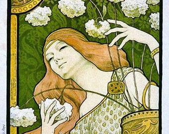 Sainte Marie des Fleurs - Cross stitch pattern pdf format
