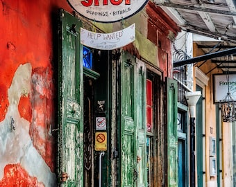 Rev. Zombie's Voodoo Shop - New Orleans - wall art, home decor, office decor, travel photography