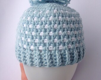 Premmie Baby beanies, assorted sizes and colours, OOAK