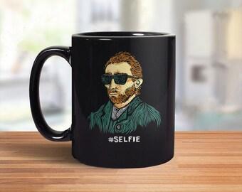 Van Gogh Mug | Funny Coffee Mug | Van Gogh Gift | Hipster Coffee Mug | Hipster Gift | Artistic Coffee Mug | Art History | Gogh Coffee Mug