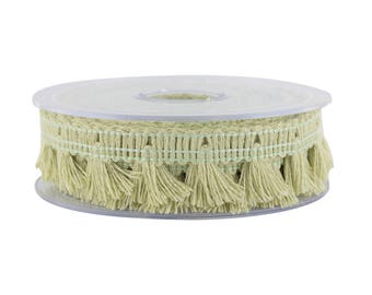 Lace Ribbon fringe linen width 20 mm