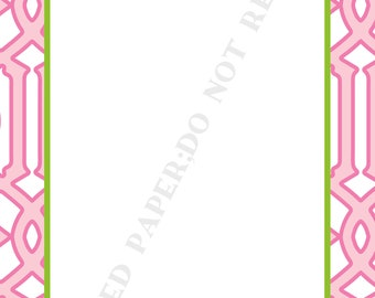 Personalized tennis notepad set (two) personalized-Tennis notepad with Name