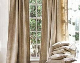 2 Window curtains, draperies, valances  Panels Curtains Designer Curtain Panels 24W or 50W x 63, 84, 90, 96 or 108L Magnolia Home Fashions