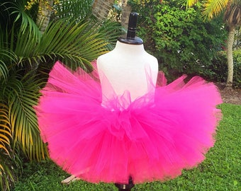 Baby girl tutu, Newborn tutu, Pink baby tutu, Gift for baby, Tulle skirt, Newborn tutu skirt, Newborn photo prop, TUTU ONLY