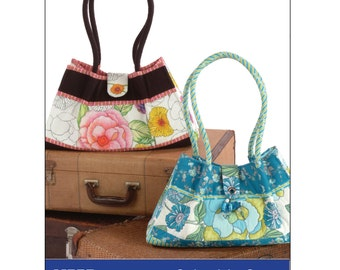 Color Me Crazy Purse Sewing ePattern PDF - instructions to create a clutch style purse