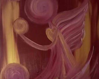 Golden Halo Angel