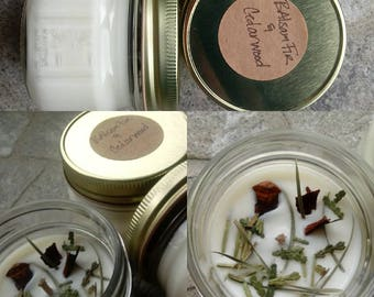 Balsam Fir and Cedarwood soy candle
