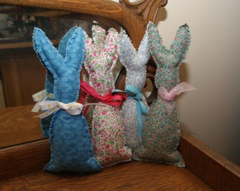 Stuffed Fabric Bunny