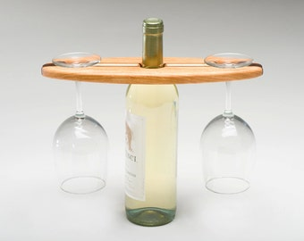 wooden wine caddy for your favorite wine connoisseur